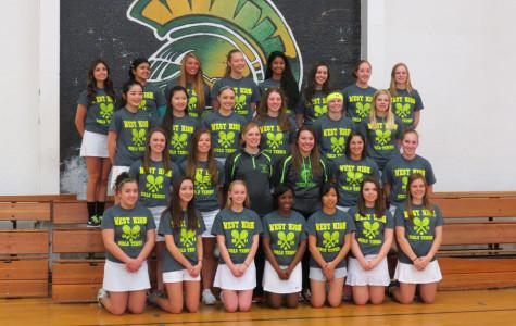 Girls junior varsity tennis: exploring the underdog team