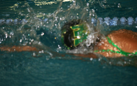 West High girls swimming vs. City High