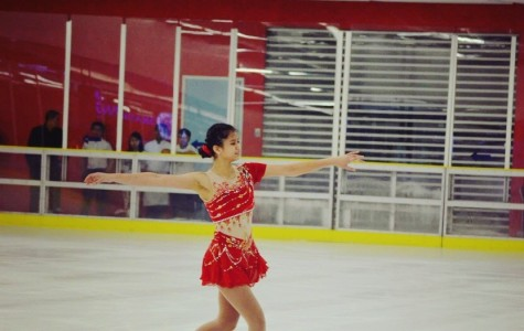 Amirah Azhari '17 – figure skater