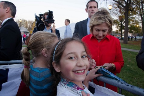 Clinton draws young voters at Coralville event