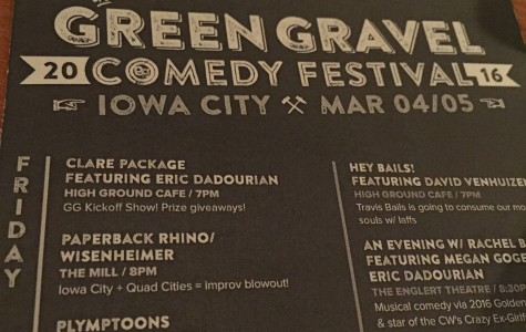 Green Gravel Comedy Festival features comedy from around the nation