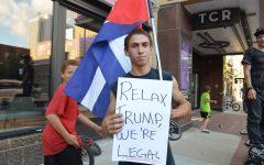 Donald Trump takes on Cedar Rapids