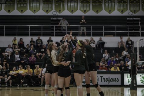 Photo gallery: volleyball takes down Waterloo East