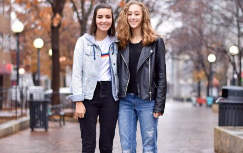 Fashion and friendship Friday: Leela Mahajan & Olivia Barker