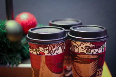 Coffee trends at local coffee house