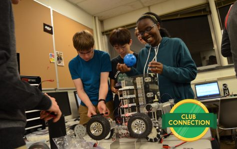 4 days until competition one: robotics club prepares