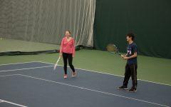 West Side Story staffers take on West High boys tennis team