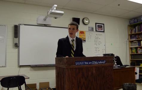 Freshmen debaters compete at championship