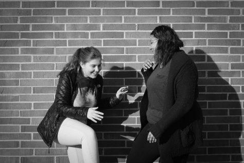 Friend crush: Jillian Baker '19 and Janelle Beemon '19