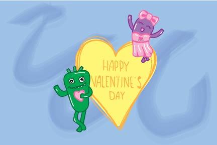 A quiz-tacular Valentine's Day