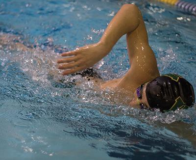 Boys swim qualifies in nine of 11 events for state meet