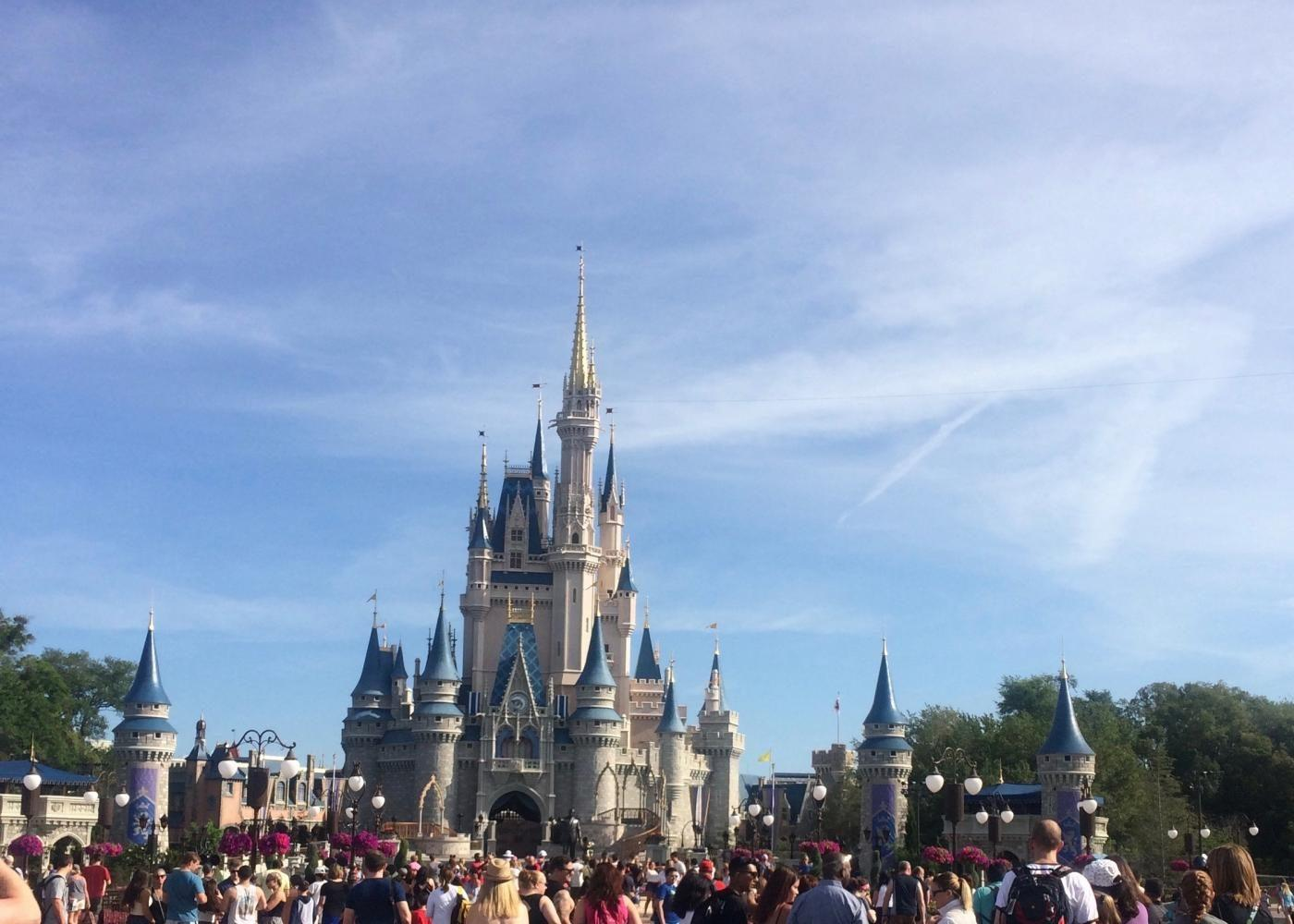 The marching band heads to Flordia