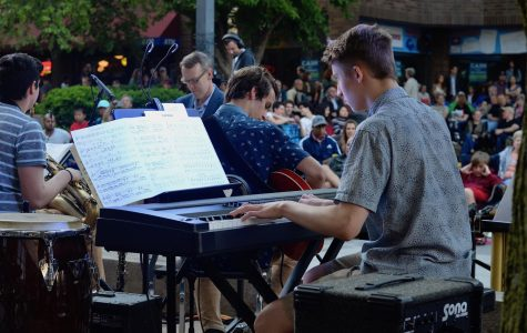 "Jazz bands perform for ""Friday Night Concert Series"""