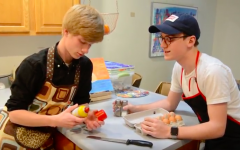 Nick and Ethan's wonderful cooking adventure