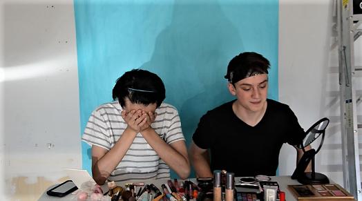 WSS staffers attempt 2017 makeup trends