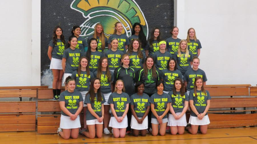 Girls junior varsity tennis: exploring the underdog team