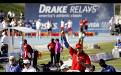 Track and field athletes qualify for Drake Relays