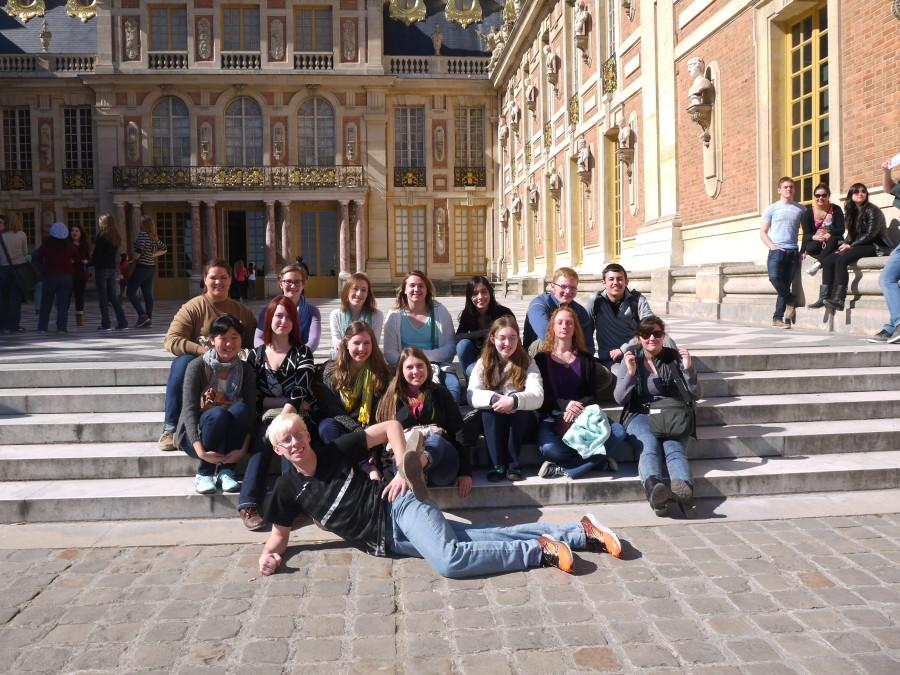 Foreign language trip to France