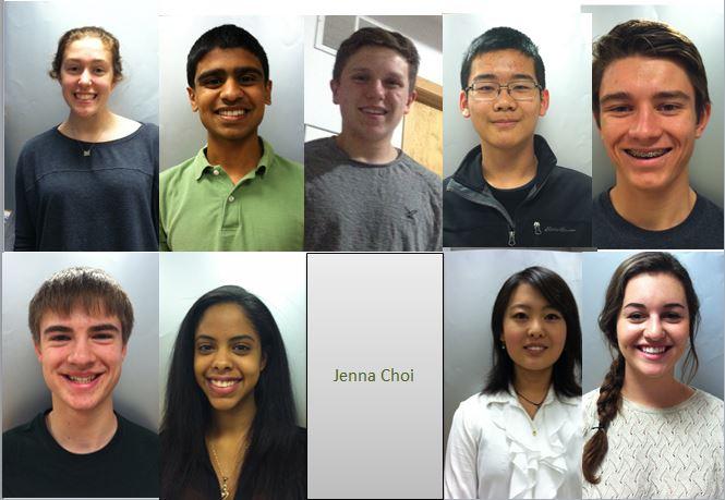 Student Senate candidates