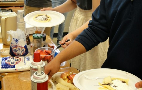 French Club's crêpe day