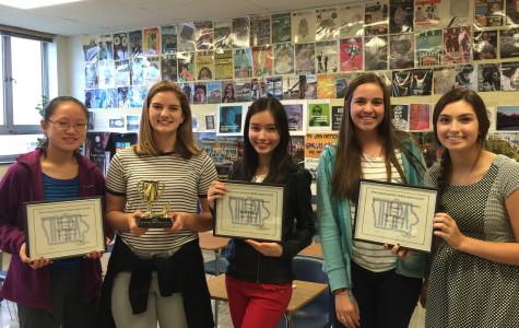 WSS receives awards for graphics, writing and photography at IHSPA conference