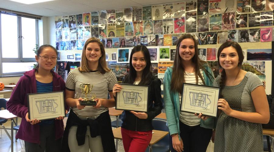 WSS+receives+awards+for+graphics%2C+writing+and+photography+at+IHSPA+conference