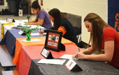 West students sign National Letters of Intent
