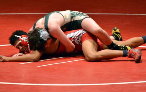 Wrestling team defeats City High