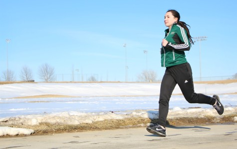 Girls track rising star Rachel Hoeft