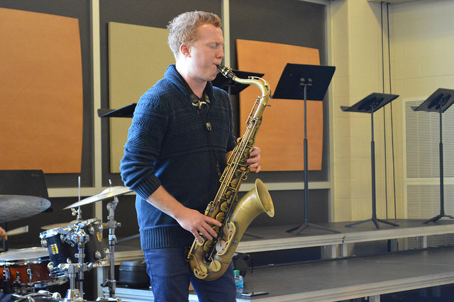 Jazz+saxophonist+Adam+Larson+visits+West