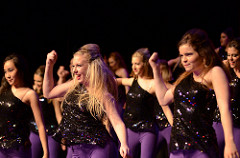 Show Choirs unveil routines at Winter Swing Show