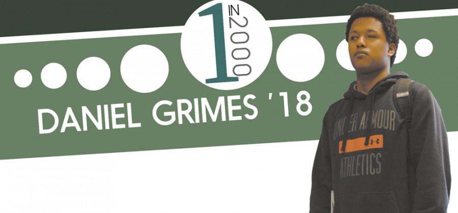 1 in 2000: Daniel Grimes '18