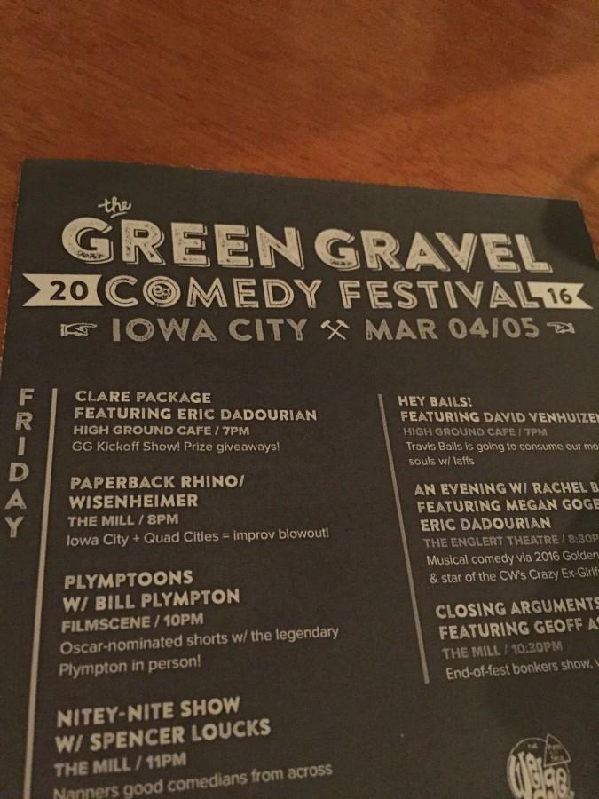 Green+Gravel+Comedy+Festival+features+comedy+from+around+the+nation