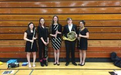Woodwind Quintet shines at music festival