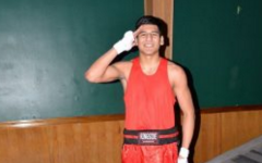 Fighting in the ring and for his country