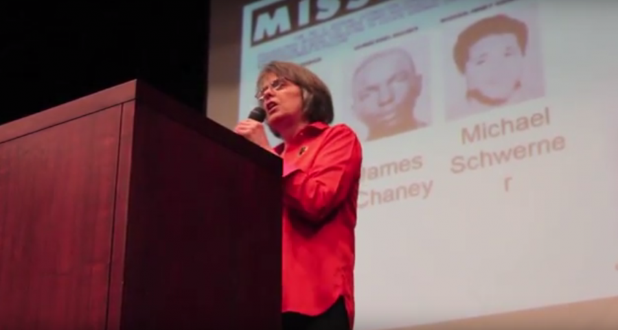 Mary Beth Tinker first visited West on May 5, 2016, to talk to students about their First Amendment rights. She will return—this time, with her brother John Tinker—as part of the 50th anniversary of the Supreme Court ruling in Tinker vs. Des Moines Independent School District.