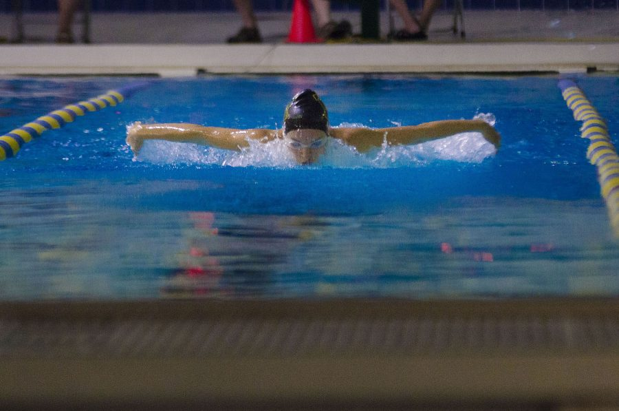 West High girls swimming wins first meet of season