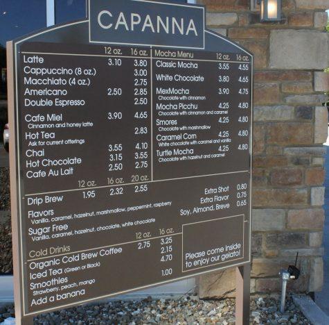 capanna-menu