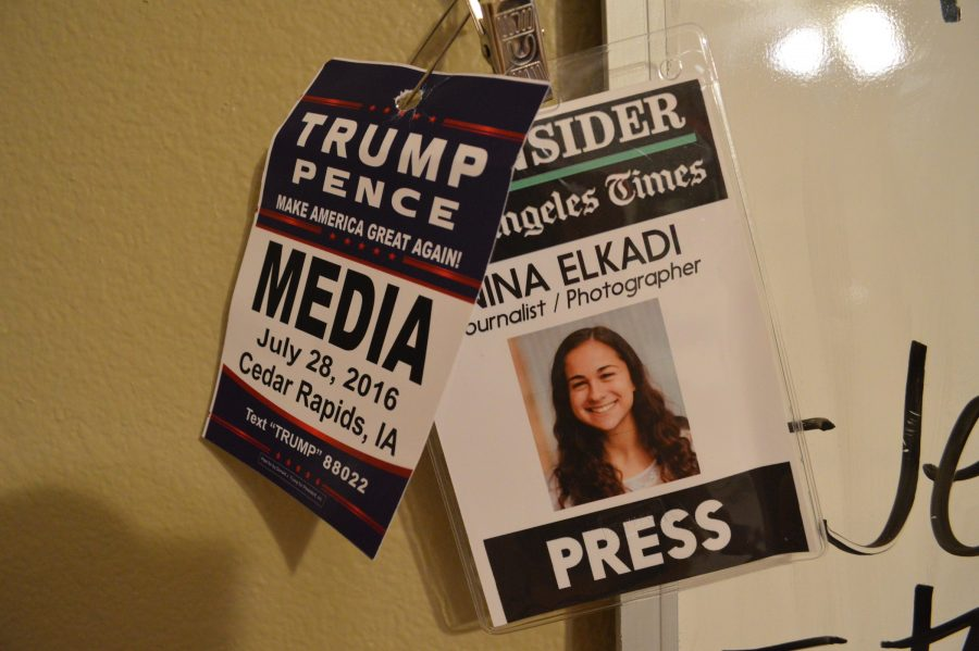 Covering Trump--as a 16 year-old mixed race girl