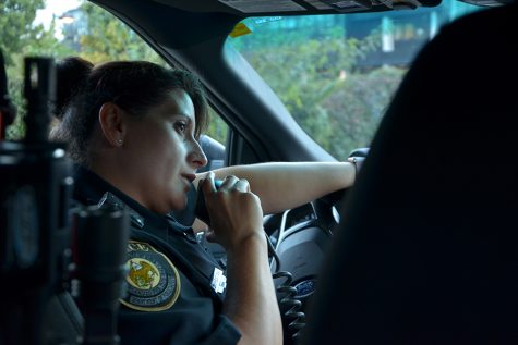 Ride along with an officer