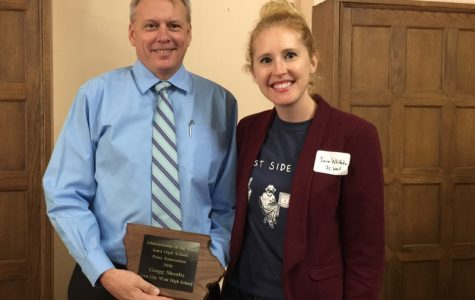 Shoultz wins Iowa's Administrator of the Year award