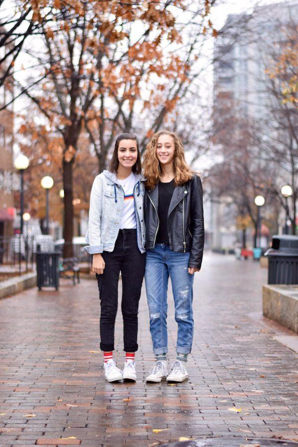 Leela Mahajan '20 (left) and Olivia Barker '20 (right) have been close friends for the past seven years.
