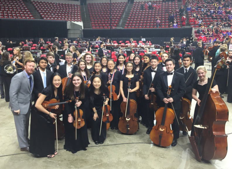 Freshmen perform at All-State