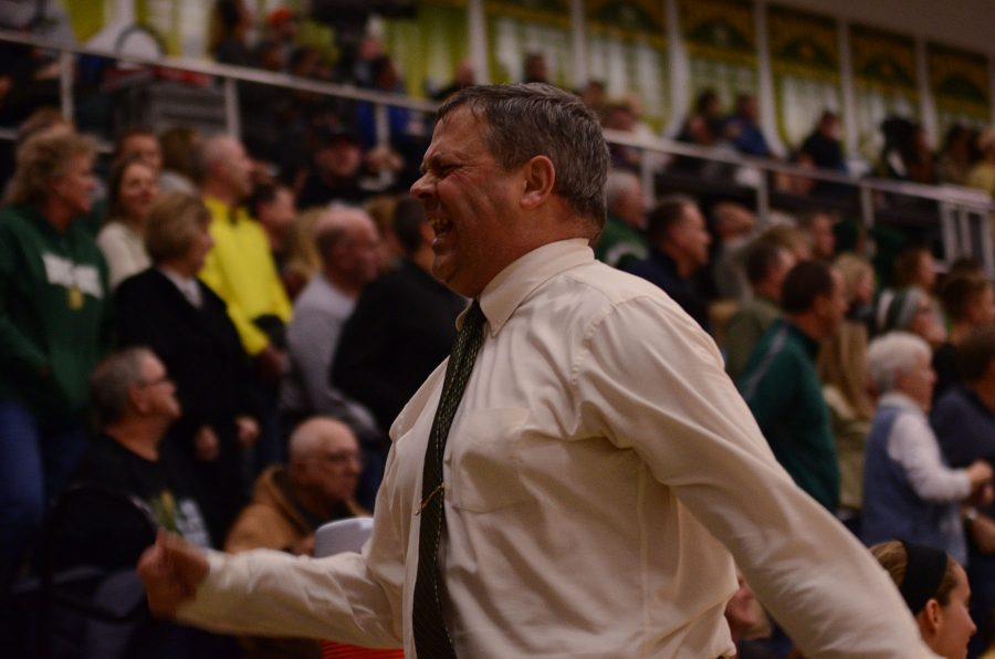 Girls basketball Coach BJ Mayor is upset when Joans   gets fouled right when the team was up by one in the last 20 seconds.