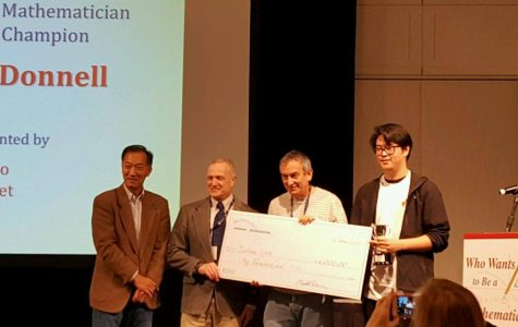 West student wins second place at national math contest