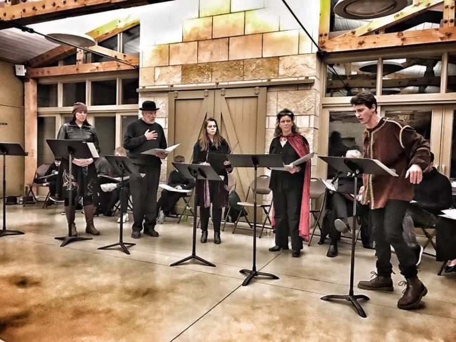 Iowa City actors band together for protest reading