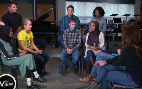 Students featured on The View's MLK day special