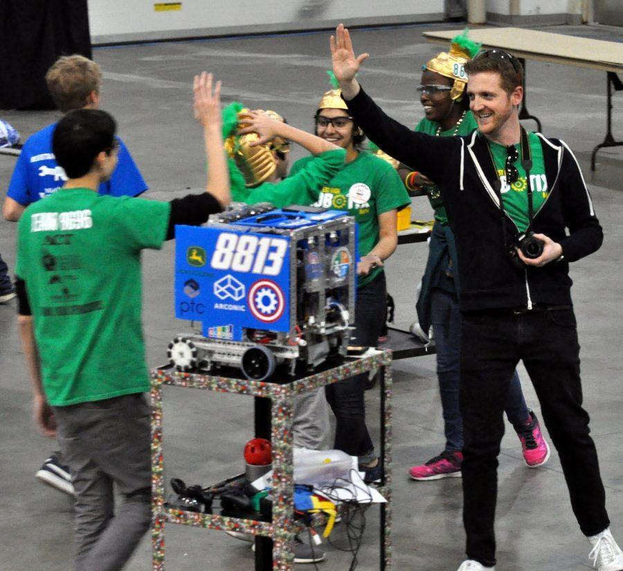 Robotics team wins State tournament