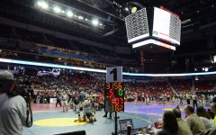 The 2017 Iowa High School State Championships are underway at Wells Fargo Arena in Des Moines.