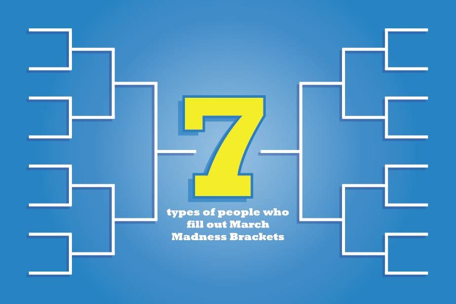 7 types of people who fill out March Madness Brackets